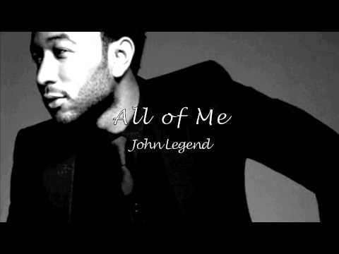 ▶ All of Me - John Legend HQ Lyric Video - YouTube