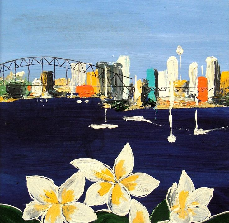 From Blue's Point –  Acrylic on paper PLATFORMstore
