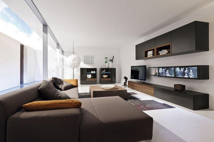 hülsta NEO bietet aufregende und zugleich schlichte moderne Designs für das ganze Wohnzimmer.  hülsta NEO features exciting and modern Designs for your living room.