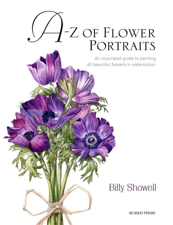 AZ des fleurs Aquarelle Portraits | Aquarelle Journey de Ian McKendrick