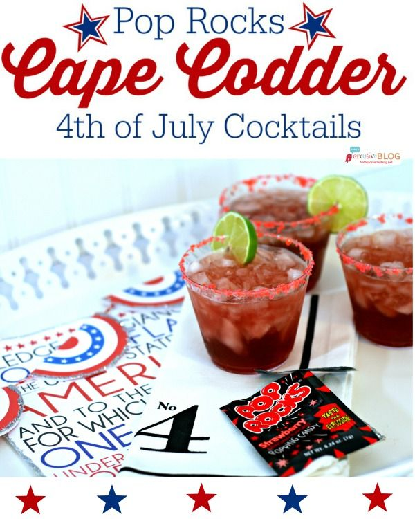 4th of july beverage recipes