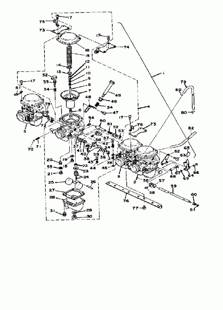 Yamaha Xs7 Engine Diagram di 2020