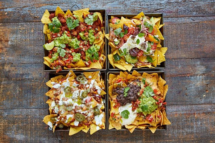 Nachos are the ultimate party food – easy to load and pimp up however you like, perfect if you've got a group of friends coming round.