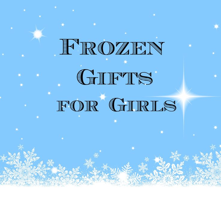 My daughter is in love with Frozen and so are my nieces and their friends.  Check out my Frozen Gifts for Girls here. It's broke down into age groups  to make ...