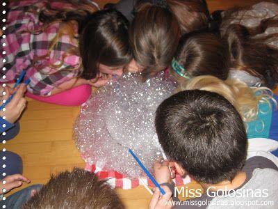 ...Miss Golosinas...: Unter-Wasser-Party # 1....Spiele, Spiele, Spiele