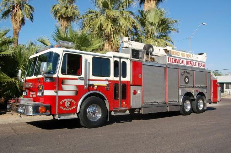 rescue apparatus Phoenix Fire Squad 29 Fire Trucks