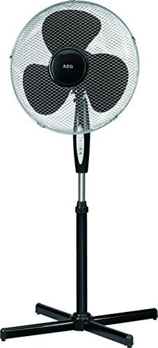 AEG VL5668S Ventilateur sur pied avec télécommande: Price:39.89Oscillating stand fan, adjustable in size and bent with timer and remote…