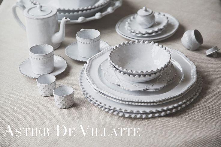 Traditional Parisian style. Astier de Villatte Dishware