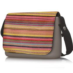Thousand Lines Flap - O Pocket accessory Shoulder Bag