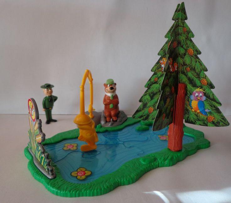 Kinder Maxi Surprise Yogi Bear as Anglers Ferrero Europe | eBay