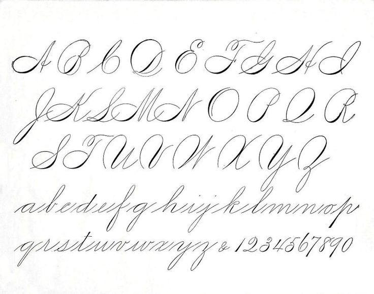 Best handwriting images on pinterest letter fonts