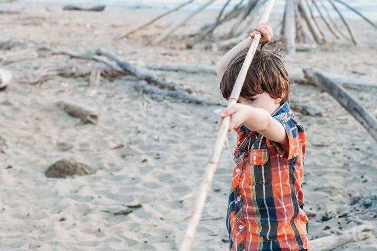 Les activités sur la plage : parents & enfants