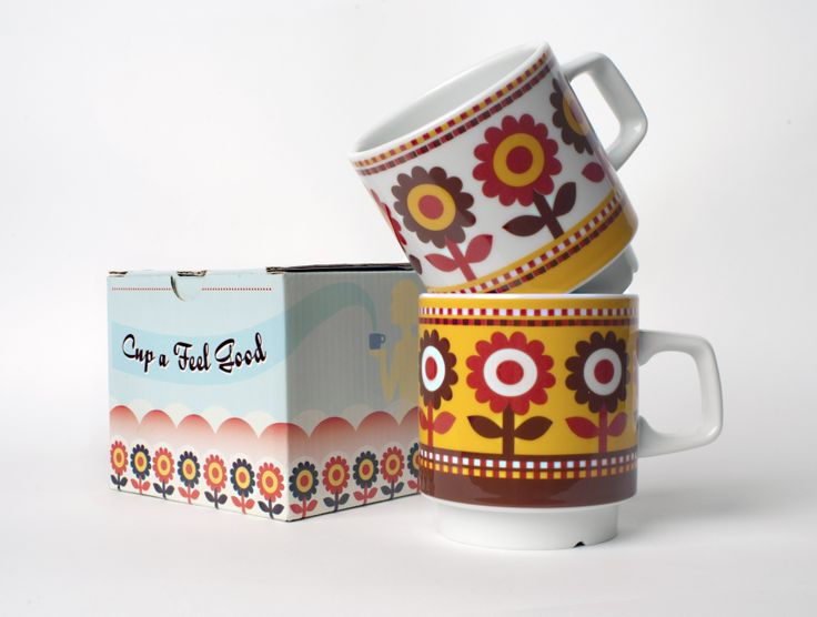 Pretty coffee cups availabe in our brand stores now/ www.wtgfeelgoodfashion.eu