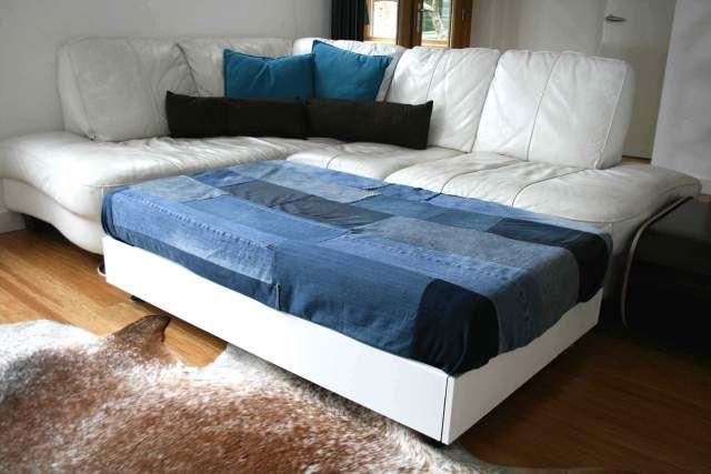 97 Best Denim Sofa Images On Pinterest Blue Jeans
