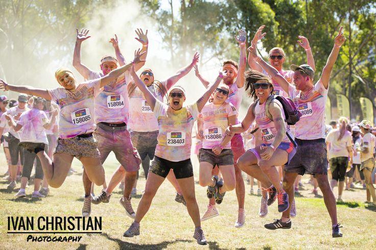 Colour Run Sydney - Ivan Christian Photography
