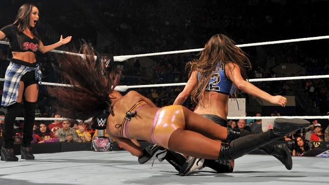 Alicia Fox Vs Nikki Bella Photos  Wwecom  Nikki Bella-4789