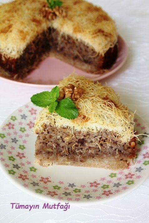 KADAYIFLI KEK - Tümayın Mutfağı - EN İYİ YEMEK SİTESİ