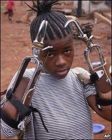 Sierra Leone~ children the victims of civil war;#bodyofChrist