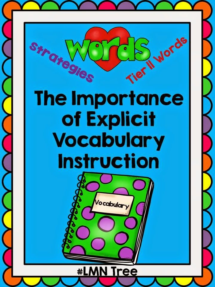 LMN Tree: The Importance of Explicit Vocabulary Instruction: Introduction