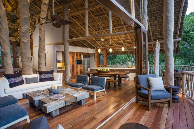 There's plenty of space to relax at the Tree House | Punta Sayulita Rentals