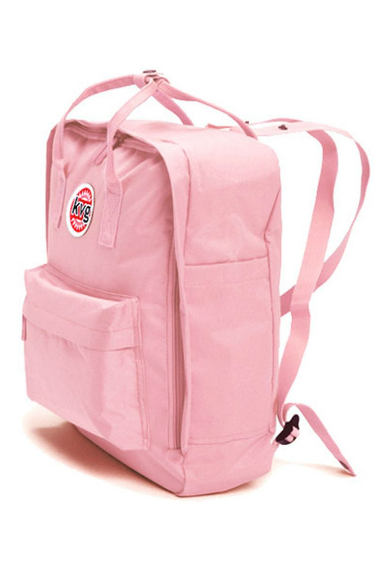 Pastel Pink College Style Backpack Mein Style