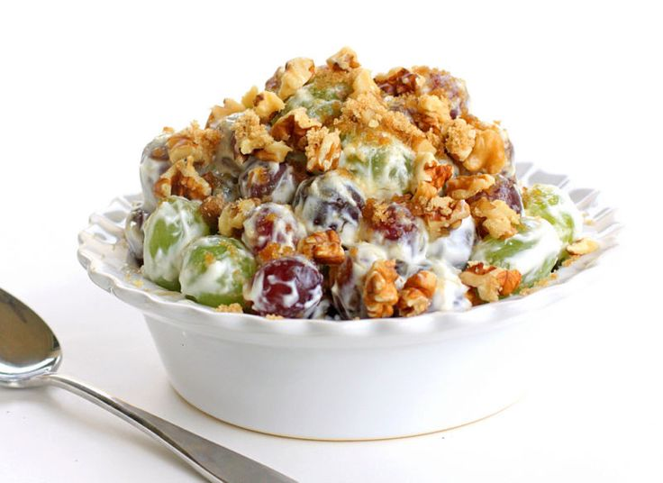 This Grape Walnut Salad is a tried and true recipe that is always a hit at potlucks. I've been making this for years.I'll admit it. I'm a total and complete grape snob. If they aren't perfectly ripe and...