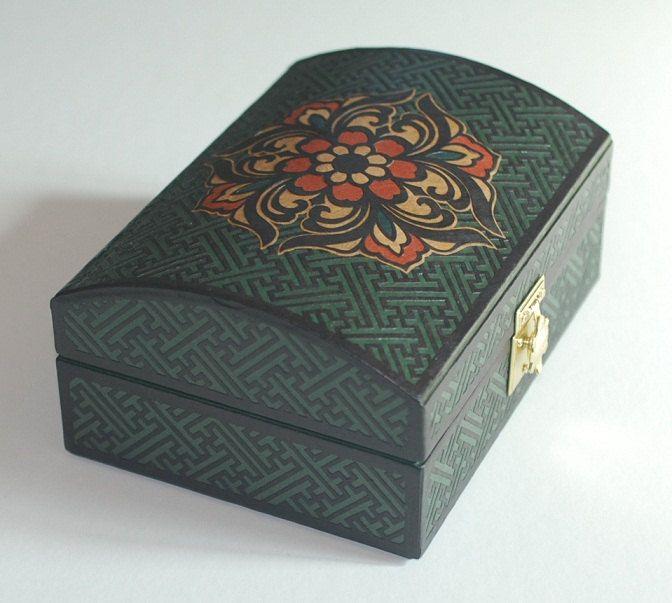 Jewelry Box,Trinket box, Storage Box, Gift, Housewarming gift, Birthday gift, Wedding Gift by koreanpaperart7 on Etsy