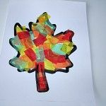 Fall Leaf Craft For Kids.    Why Do Leaves Change Color? by Bet