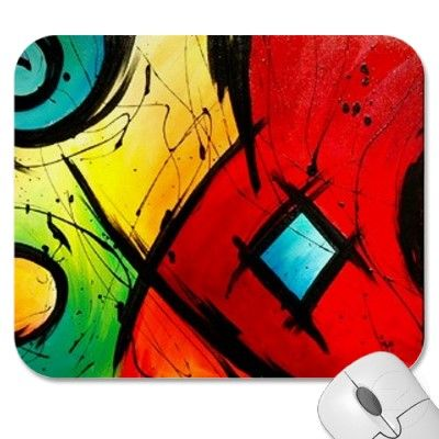 Bright Abstract mousepad