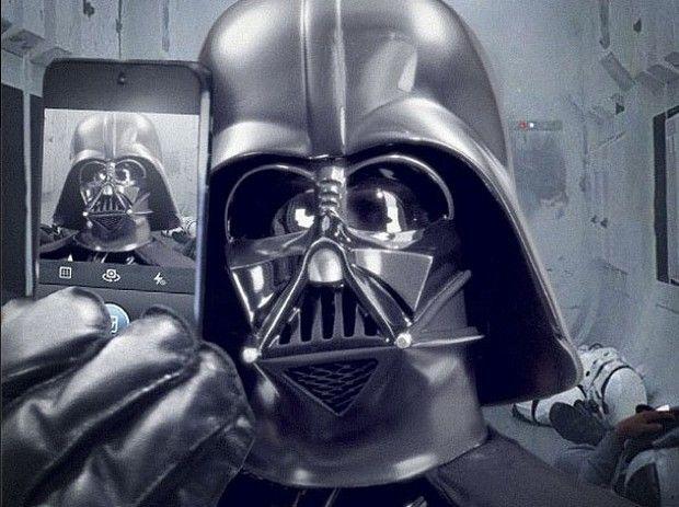 Vader self portrait