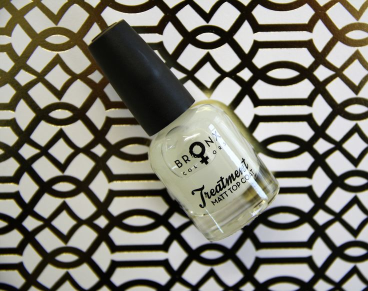 Matte Top Coat. Turn any nail polish to a matte finish in one stroke