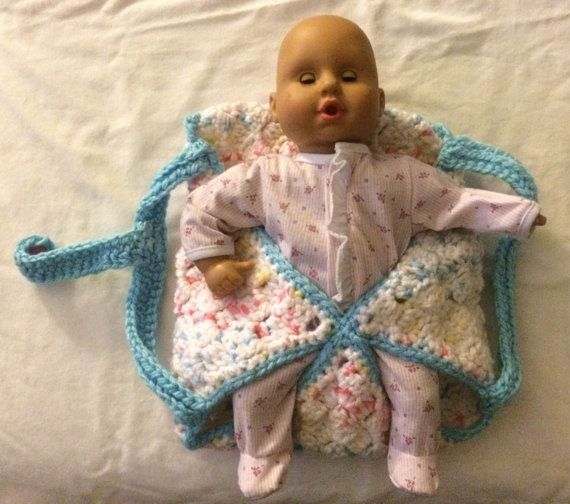 Knitting Pattern For Doll Carrier : 1000+ images about Crochet-MISC on Pinterest Free pattern, Free crochet and...