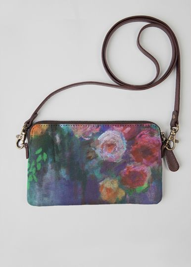 VIDA Statement Clutch - FOREST TOTE by VIDA JgJjLERuab