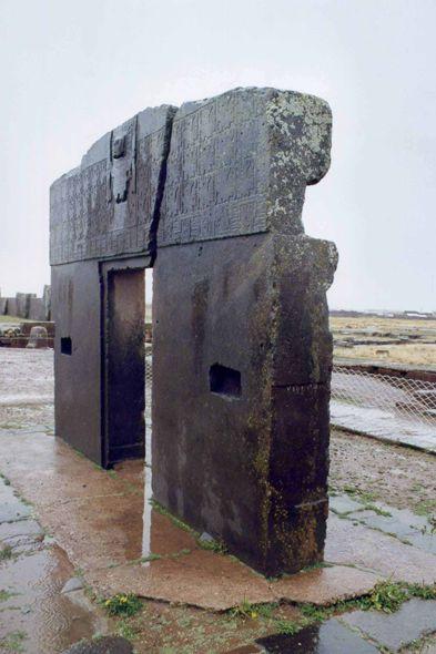 Bolivia - Tiwanaku, Sun Gate