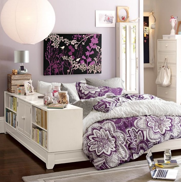 Love love love this! Redoing my bedroom at my dad's and looking I to some purple!