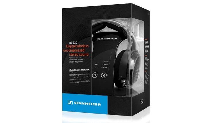 Notre partenaire Planet Sans Fil vient de publier aujourd'hui un nouveau ducasque sans fil TV/Hi-Fi multifonction Sennheiser RS 220. Le RS 220 propose son en qualité HD sans compression (16 bits – jusqu'à 48 KHz), une latence minimale, l'idéal pour profiter de la TV, des DVD (pas de déc