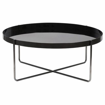 Gaultier Round Coffee Table 100cm X 40cm 1329