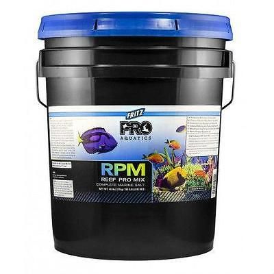FRITZ AQUATICS - FRITZPRO R.P.M SALT MIX - 48 LB BUCKET (180 GALLONS) AQUARIUMS