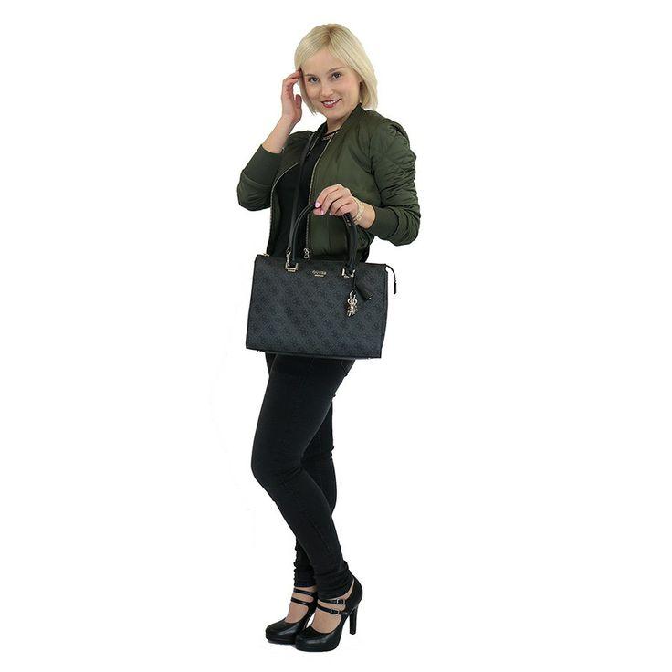 Kabelka HWSG6491060 Guess, černá | Delmas.cz - kabelky, peněženky, pánské tašky, cestovní zavazadla