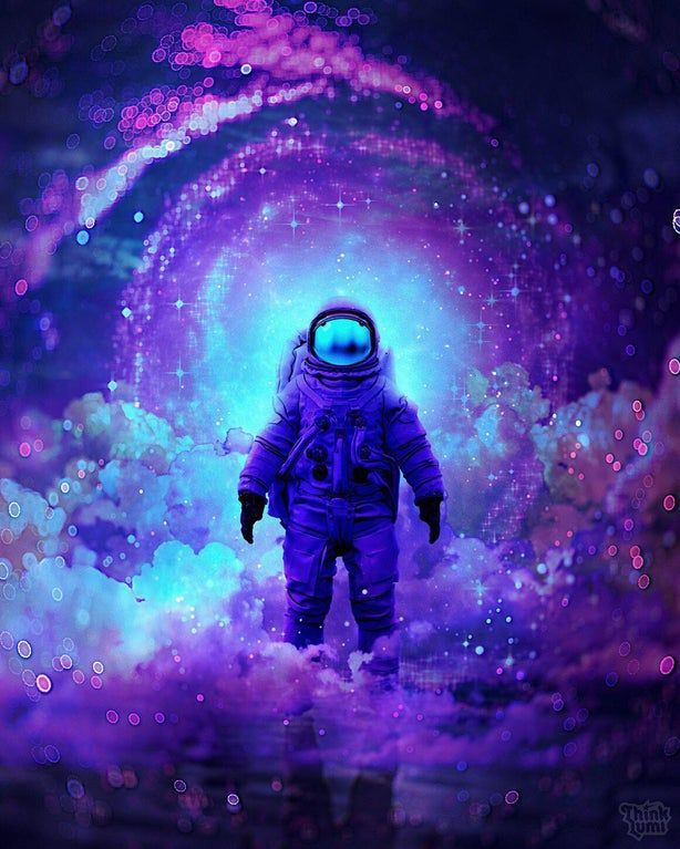 Finally Home By Thinklumi Imaginarymindscapes Space Artwork Astronaut Art Space Art