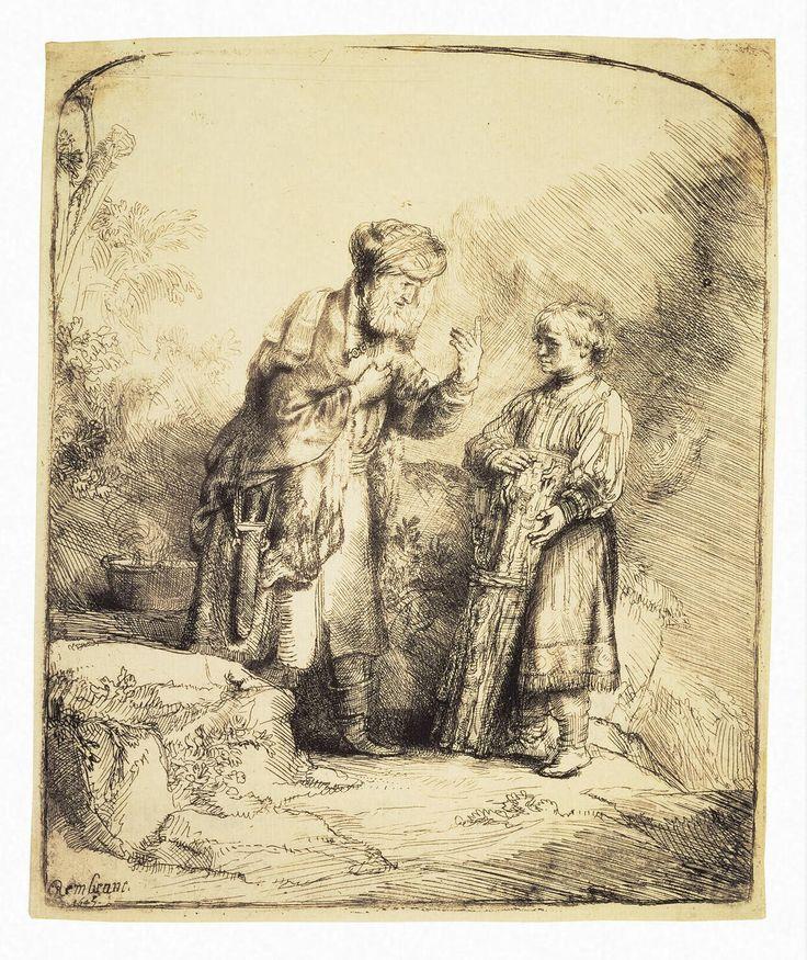 Abraham and Isaak