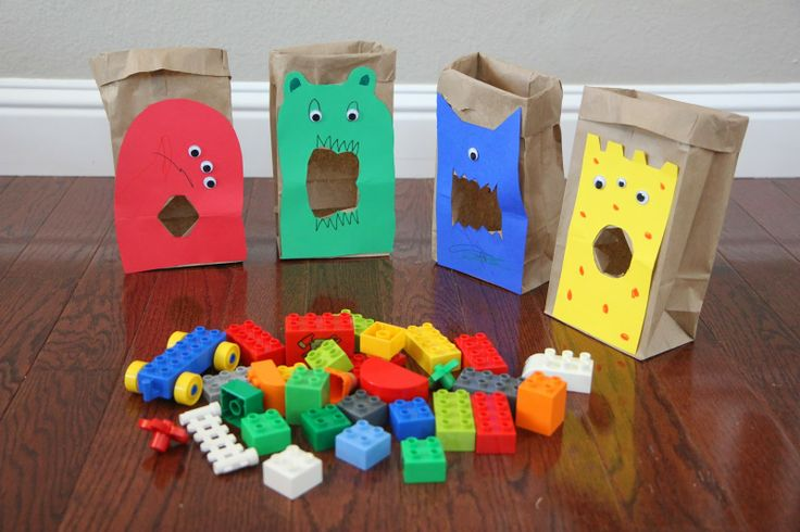 Feed the LEGO Monsters: A Sorting and Building Game for Kids