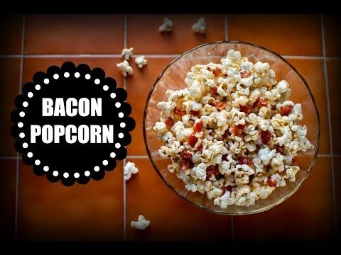 How to Make Bacon Popcorn, so Your Life Will Finally be Complete - pretty delicious. salty, sour, sweet, and savory all at once!