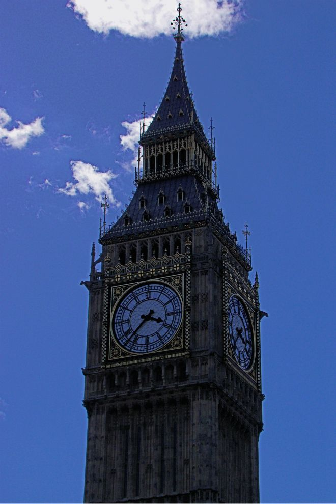 画像素材(スマートフォン壁紙用縦長):660x990(2:3) ロンドン | 40 |ウェストミンスター宮殿時計塔
