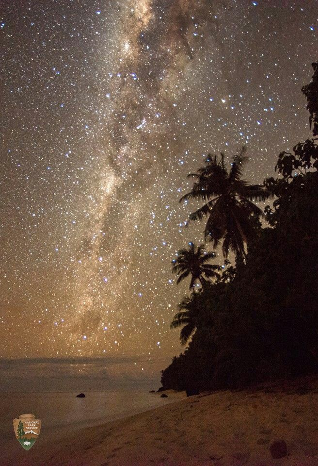 Milky Way, Ofu Island, National Park of American Samoa Credit: National Park Service