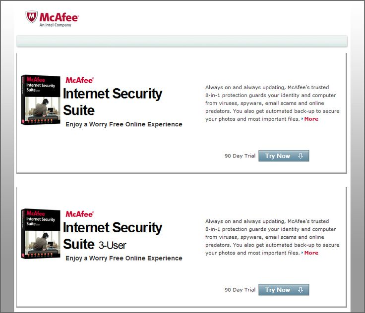 [ Download ] Free 6 Months McAfee Security 2020