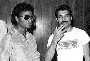 Tres temas inéditos de Queen en los que cantan a dúo Freddie Mercury y Michael Jackson