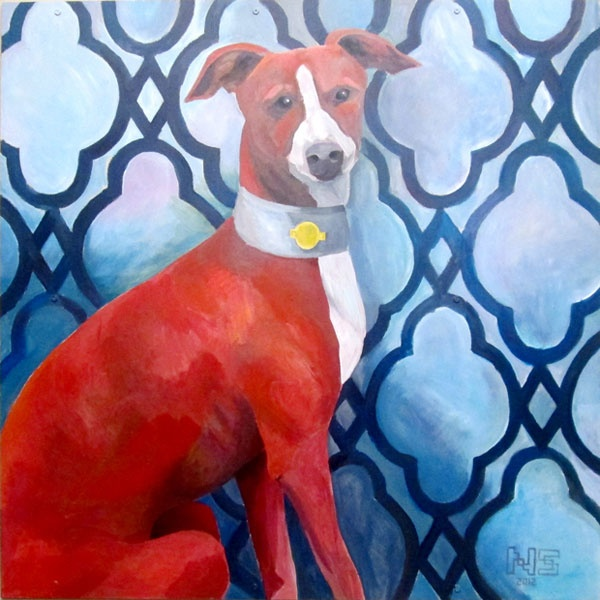 Nigel Sussman's Artwork Isn't Just on Our Site Anymore: It's on Our Wall | Dogster: Nigel Sussman, Things Dogs, Dogs Art, Site Anymore, Dogster Portraits, Dogster Hq, Dog Art, Dogs Portraits, Sussman Artworks