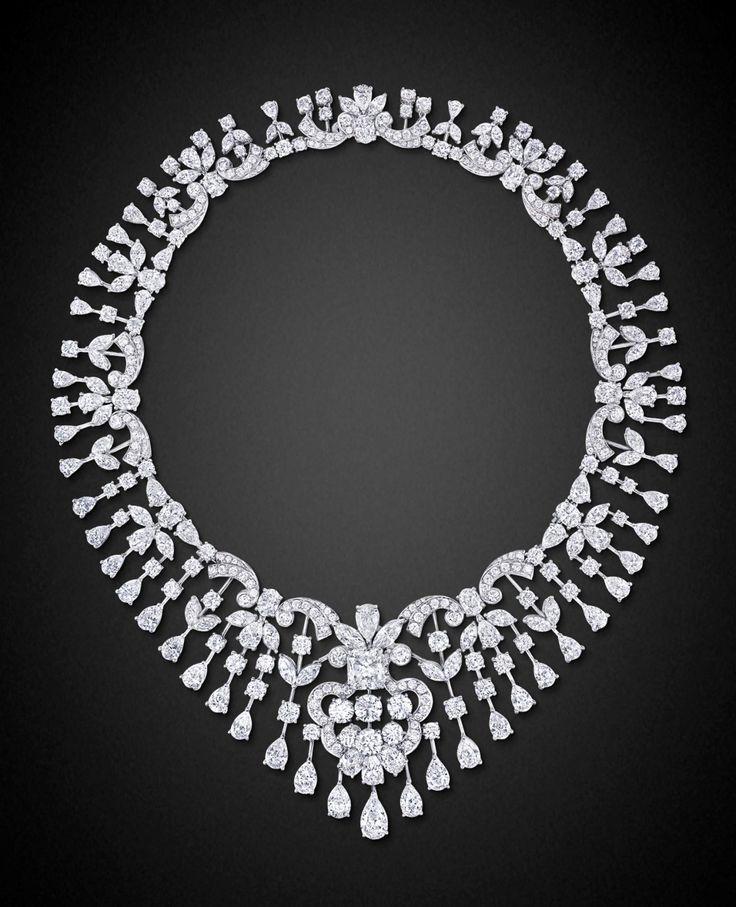 The Gryphon's Nest — Diamond Choker Necklace by Graff  
