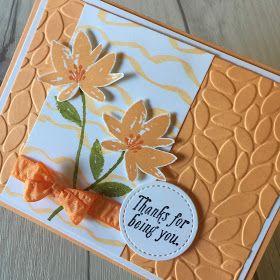 Stampin' Up! hand-made card using Avant Garden stamp set